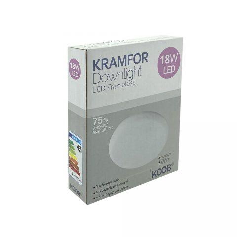 Downlight Led KRAMFOR Frameless 18W Ajustable