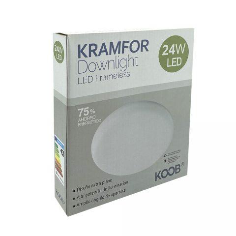 Downlight Led KRAMFOR Frameless 24W Ajustable